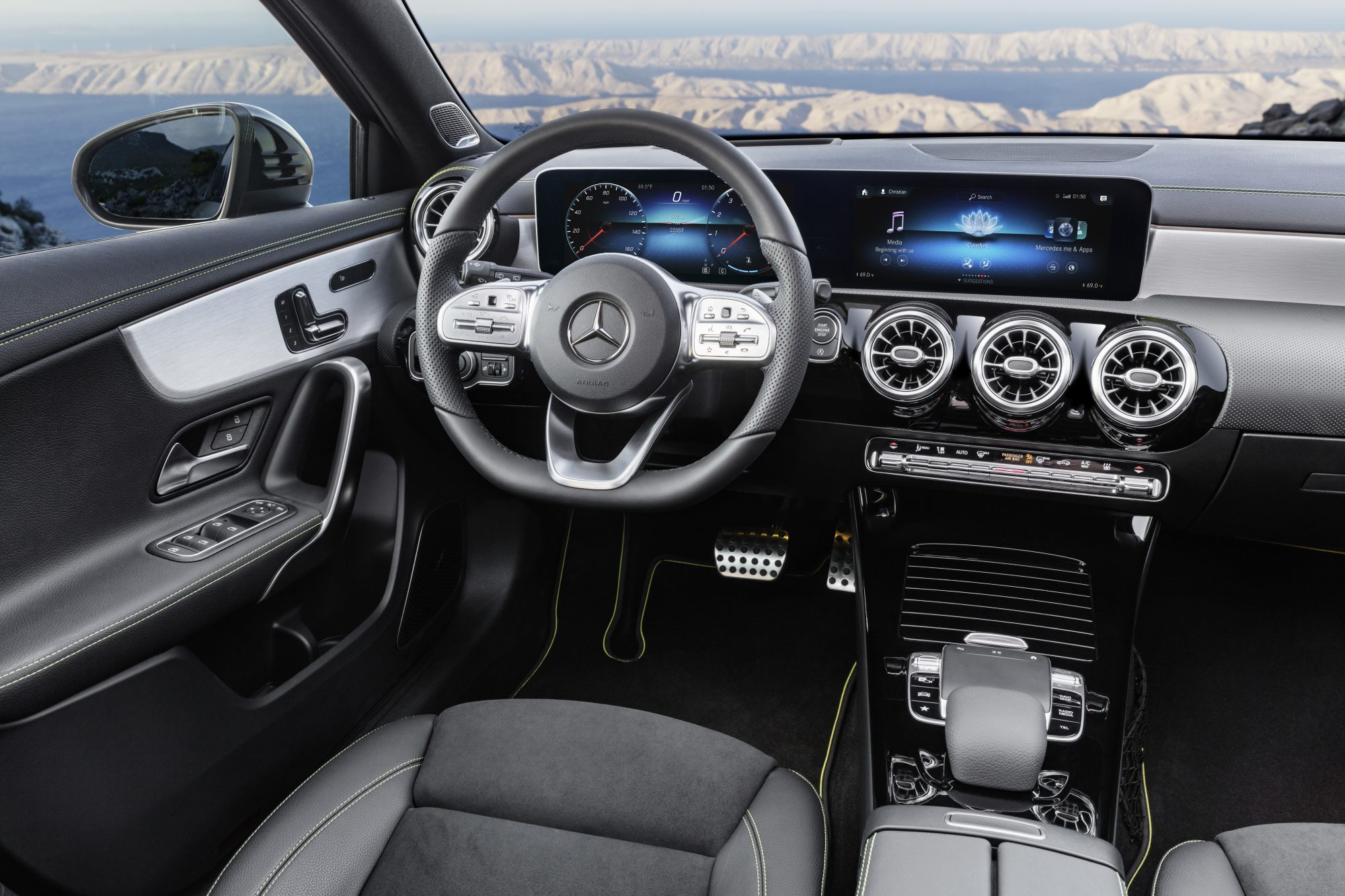 Ny bil? Hvad med en Mercedes Benz A Klasse?